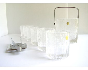 Mikasa Ice Crystal Frostfire Bar Set