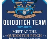 Ravenclaw Quidditch Tryouts