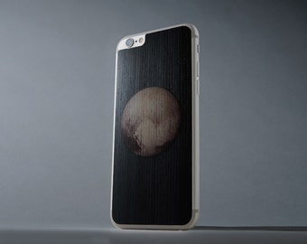 Pluto Print iPhone 6/6s Real Wood Skin - Made in the USA - FREE Shipping