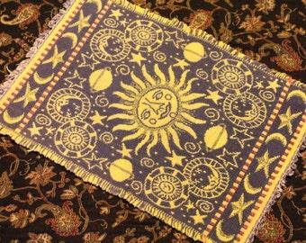 Astrology Mat or Altar Cloth