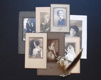 Antique  Photo Collection, vintage studio photography, antique portraits
