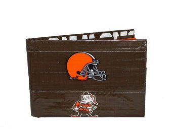 Cleveland Browns Duct Tape Wallet