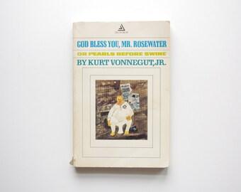 God Bless You, Mr. Rosewater - Kurt Vonnegut Jr - Vintage Paperback