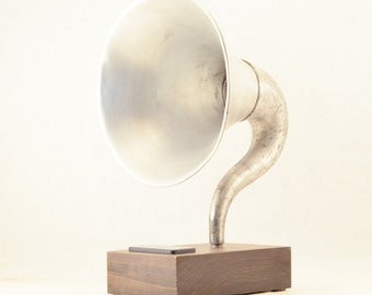 Bluetooth Speaker, Gramophone Speaker, Portable Speaker, iPhone Speaker, iPod Speaker, iPad Speaker, Tablet Speaker, Phone Speaker, Speaker