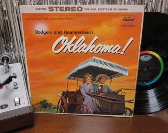 Oklahoma! - Original Movie Soundtrack - Rodgers And Hammerstein - Musical - Gatefold LP