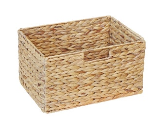 Basket made from water hyacinth for IKEA Billy shelf