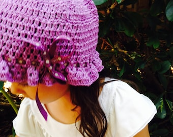 Purple Sun Hat