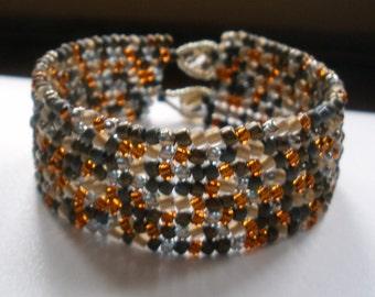 Pebbles in the Sand Bracelet
