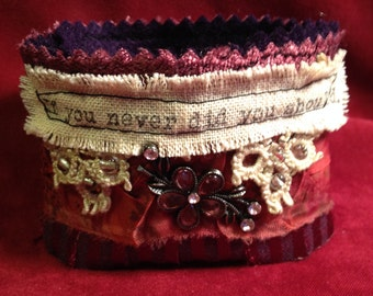 Fabric Wrist Cuff - If you never, did you should