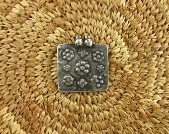 Antique Silver Tribal Hindu Amulet