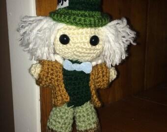 Mad Hatter Crochet Doll