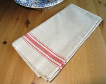 Free Shipping World   Mangle Cloth  2.72 Yards Tablecloth Linen  Red  White  Stripes      Curtain Upholstery Roman Blind Roman Shades Runner