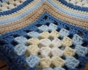 Matthew's Cluster Baby Blanket - Instant Download PDF Crochet Pattern