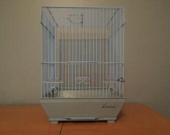 Vintage Bird Cage Laviva Baby Blue