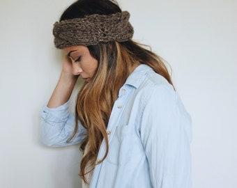 braided turban headband / earwarmer / winter headband