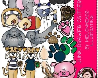 Critters clip art - Junk Drawer