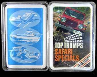 Top Trumps Vintage 1970's Cards with Case from Dubreq