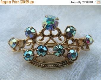 On Sale Rhinestone Crown Pin Item K # 911