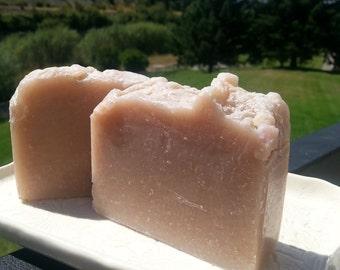 Absinthe scented cold process soap bar, shower bar, housewarming gift, teacher gift, wedding gift, bath soap bar