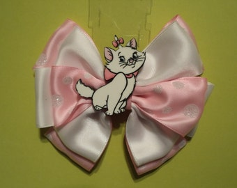 Marie Kitty from the Aristocats  /  Hair Bow
