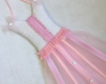 Pink Tutu Dress HAIR BOW HOLDER, Hair Clip Organizer, Headband Holder, Hair Clip Holder, Hair Bow Organizer, Baby Headband Holder