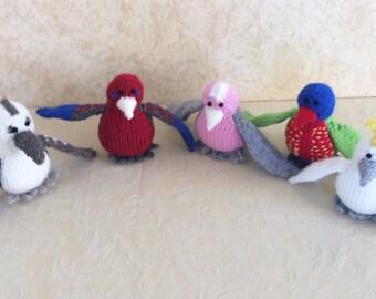 Quintet Native Australian Birds