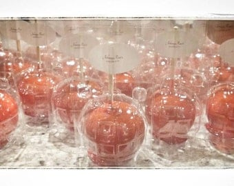 Red delicious Candy Apples 1 Dozen
