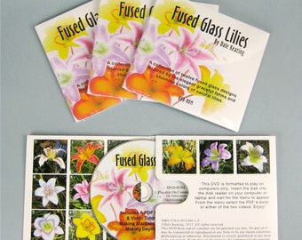 Fused Glass Lilies, DVD-rom