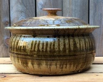 Ceramic Covered Bowl