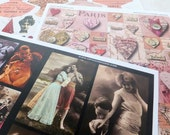 100s of HEARTS, LOVE and ROMANCE Images and Words in this Beautiful Paper Collage Sheet Collection! Perfect for Valentines!