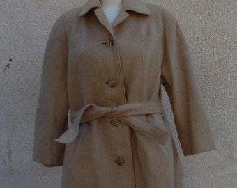 free shipping LLAMA wool jacket windbracker  circa 1980's unaware made in PERU