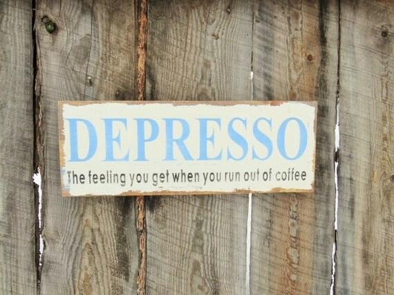 Rustic Home Decor Coffee Sign Kitchen Decor Sign Coffee Decor