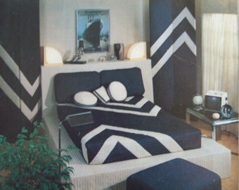 The Contemporary Bedroom Pattern Simplicity House Pattern 112 Home Decor Pattern