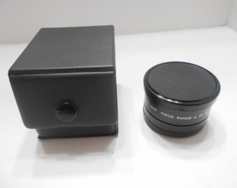 Vintage DeJur Aux. Wide Angle Lens (17) Focus Range 6 Ft. to Inf.