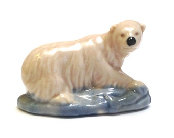 Wade Whimsie Whoppa: Polar Bear Figurine - 1976-81