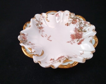 H & C Limoges for James Green and Nephews Serving Bowl, Late 1800's