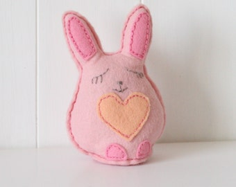 Mummy Bunny Felt Sewing Kit, Make Your Own Bunny Kit, Sew Your Own Bunny, Felt Bunny Kit, Pink Bunny, Bunny Feltie, Mothers Day Gift