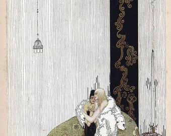 East of the Sun West of the Moon Kay Nielsen Print