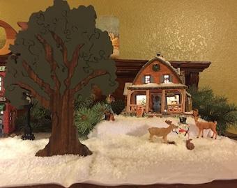 Oak tree puzzle