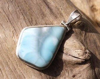 Pendant in Larimar and Silver 925