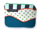 Upcycled Zippered Pouch