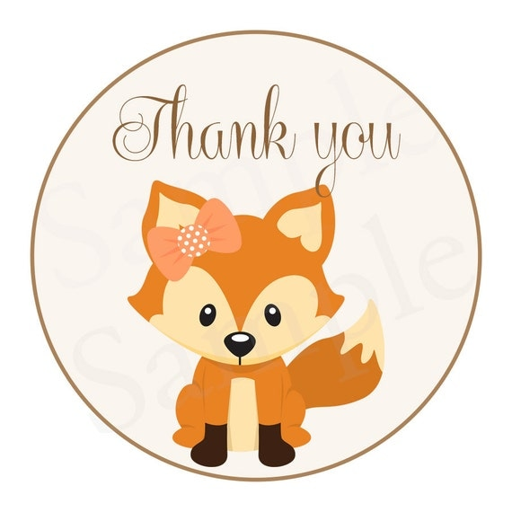 Woodland Baby Red Fox Forest Animals Theme Baby Shower
