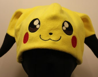 Pikachu Pokemon Fleece Hat