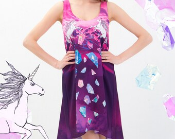 Cloud horses - summer dress