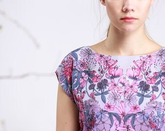 Wild Flowers - chiffon top