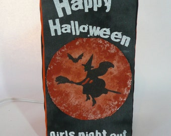 Halloween lamp cover. Halloween decoration. Halloween LampSock©. LAMP SOLD SEPARATELY.