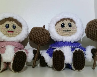 LWC Crochet Ice Climbers Plushies Super Smash Brothers