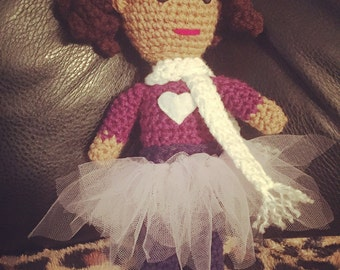 Crochet Princess Doll