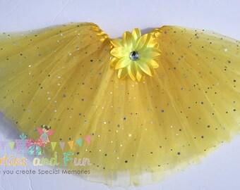 Yellow Tutu, Fairy Tutu, Princess Tutu, Yellow Tutu Ballet Skirt, Tutus, Dress Up tutus, Dance tutu, Fairy Party Favors, tutu, Basic Tutu