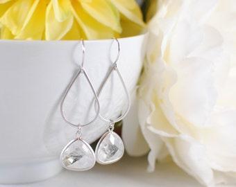 The Aisha Earrings - Silver